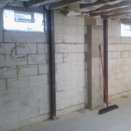 Bowed Basement Walls U0026 Foundation Repair
