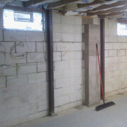 Bowed Basement Walls Amp Foundation Repair C Amp J Basement